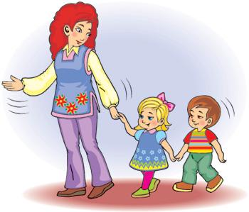 Картинки по запросу анимация воспитатель и малыши
